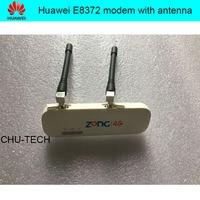 مقفلة هواوي E8372 E8372h-153 150 mbps 4 جرام lte wifi مودم مع هوائي