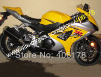 Hot Sales,Custom race fairing for SUZUKI 2007 2008 GSXR 1000 07 08 Yellow K7 aftermarket motorcycle parts (Injection molding)