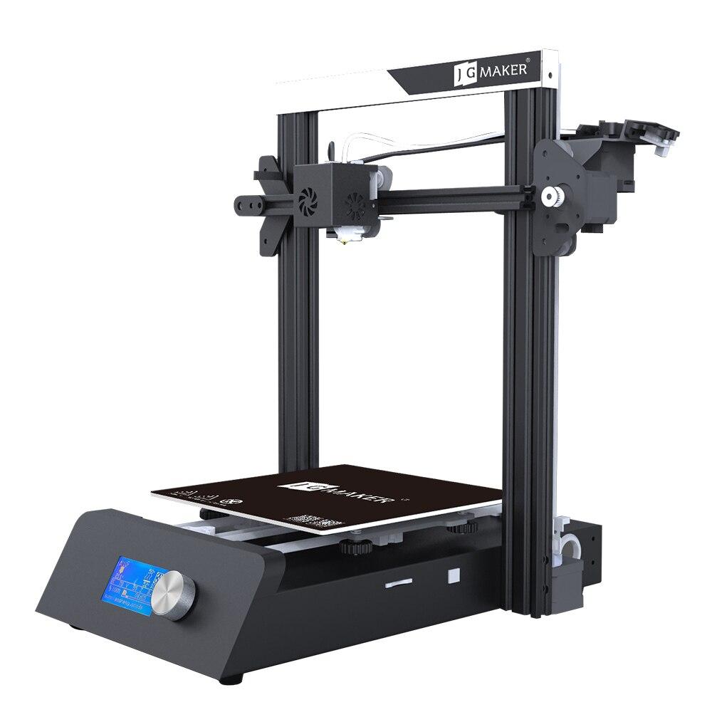 JGAURORA Magic 3D imprimante unique buse écran LCD cassé matériel détection base de tôle Semi-bricolage conception roulement à billes