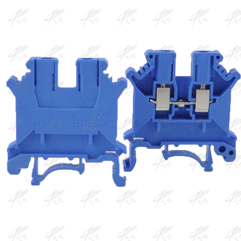 10pcs UK-3N DIN Rail Universal Terminal Blocks Screw Type UK3N blue Phoenix Type High Quality 480l h portable wash device car washing machine cleaning pump household high pressure car wash pump