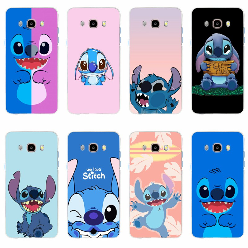 Cellphones & Telecommunications Genteel Cute Cartoon Stich Cover Soft Silicone Tpu Phone Case For Samsung Galaxy S6 S6edge S6plus A7 S7edge S8 S9 Plus A5 J5 J7 2016 Phone Bags & Cases