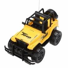 Enfriar 1:24 Drift Velocidad Radio Remote control RC Jeep todoterreno vehículo de la linterna + 4 canales rc coche para niños kids baby toys regalo