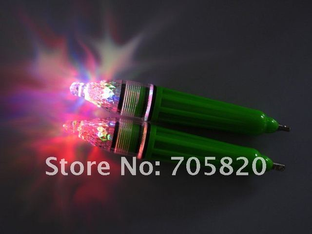 10pcs/lot LED Deep Drop Underwater Fishing Light 16.5cm/37.7g,color-gathering fishing lamp,fishing tackle,Freeshipping