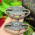 Rushed Sale Freeshipping Decoration Handle Antique Drawer Alloy Wooden Packaging Printing Hand-carry