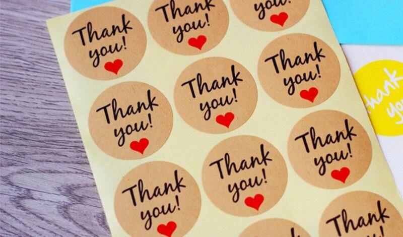 Personalised Kraft Seals Sealing Sticker Label For Wedding Favor//Envelope//Card