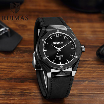 Ruimas Men Watches Leather RL535G