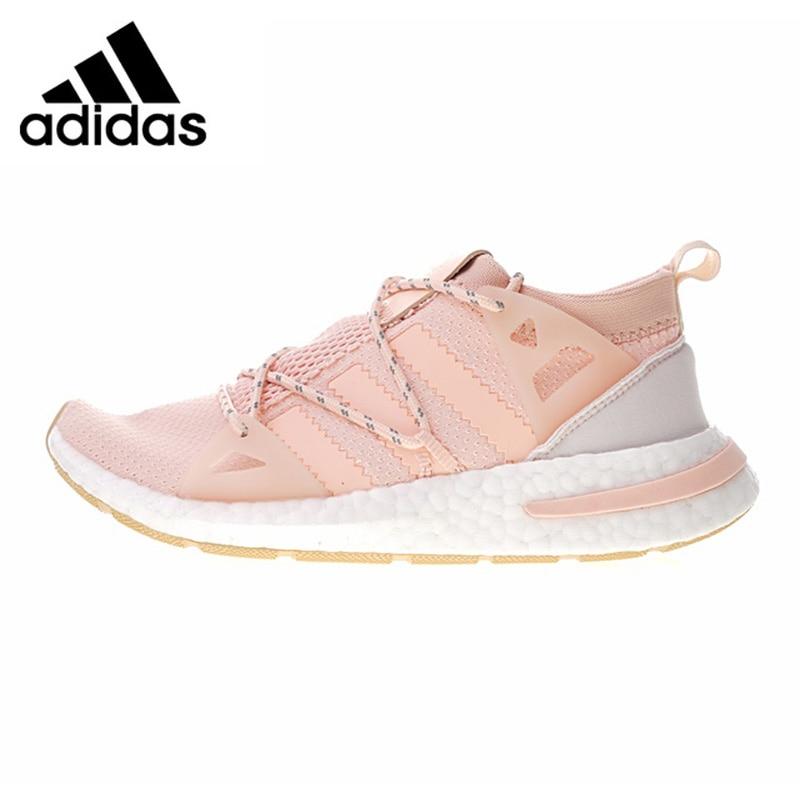 Adidas Arkyn Boost Women's Running Shoes, Pink,Wear-resistant Breathable Shock-absorbing Non-slip Lightweight DA9698 adidas clover gazelle men s and women s walking shoes pink breathable wear resistant lightweight non slip bb5264
