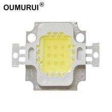 10W LED COB Chip de Alta Potência Da Lâmpada Quente white3000k/6000 k Branco 9-12v 900mA 30MIL
