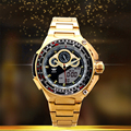 Watches Men Luxury Brand AMST Full Steel Military Quartz-Watch Fashion Gold Digital Sport Waterproof Relogio Masculino 2016