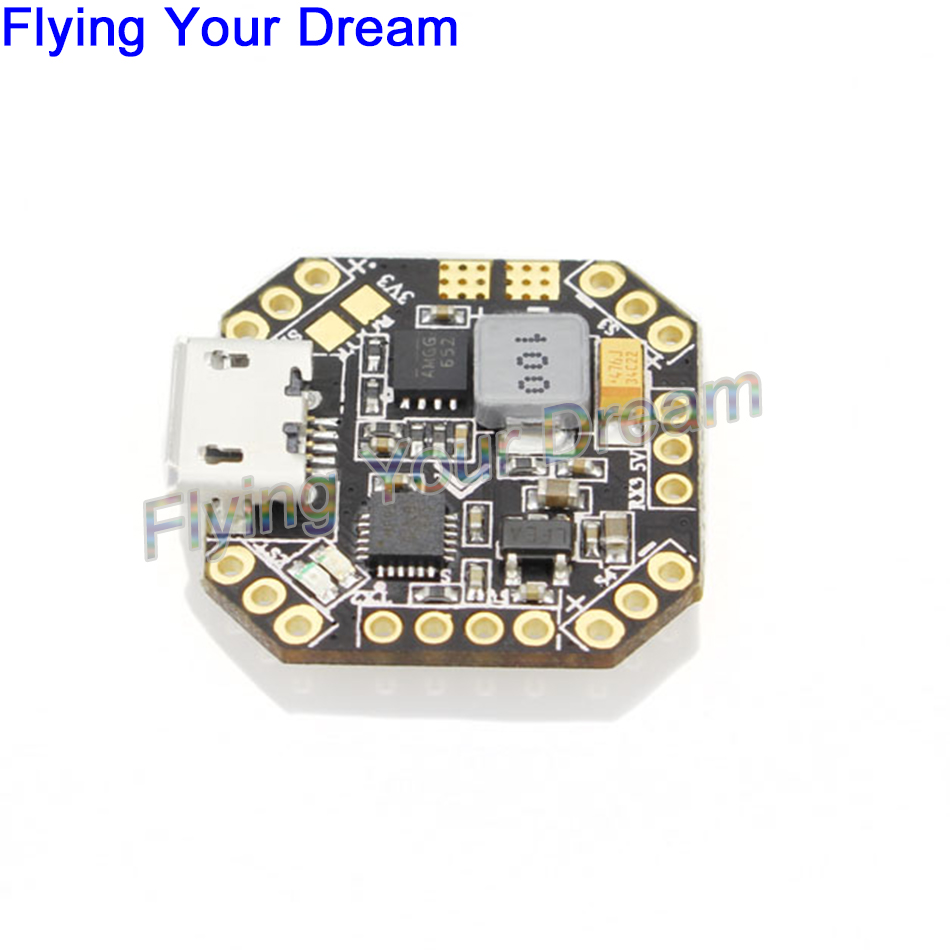 New Emax STM32F303 F3 Femto Flight Controller With Integrated BEC/Buzzer Pads/VBat/PDB for Mini FPV Quad drone with camera rc plane qav 250 carbon frame f3 flight controller emax rs2205 2300kv motor fiber mini quadcopter