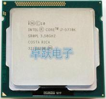 Оригинальный процессор Intel i7 3770K, четырехъядерный LGA 1155, 3,5 ГГц, 8 Мб кэш памяти с HD графикой, 4000 TDP 77 Вт, процессор для настольного ПК, с i7 3770K