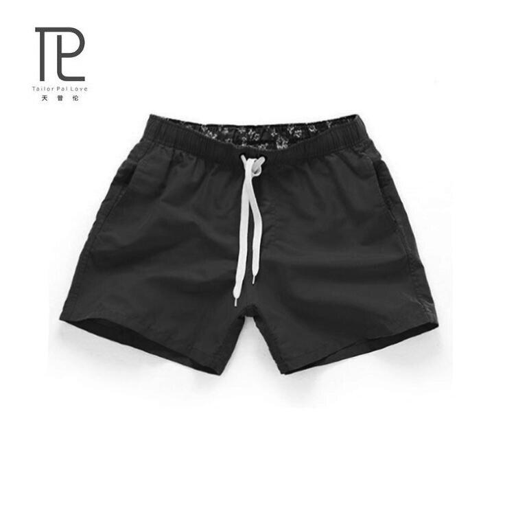 Summer   Board     shorts   men casual solid Mid Beach   shorts   fashion printed Waist   shorts   man Straight Drawstring   shorts   S-3XL #D995