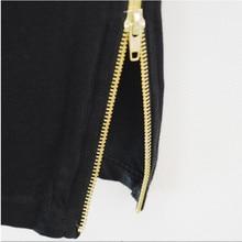 MRMT Mens long t shirt Streetwear Hip Hop Black t-shirt 2018 Longline Extra Long tee shirt for male Zipper Tops tshirt