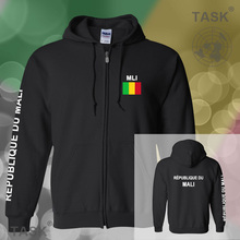 Republic of Mali Malian mens hoodies and sweatshirt jerseys polo sweat suits streetwear tracksuit nations fleece zipper MLI ML