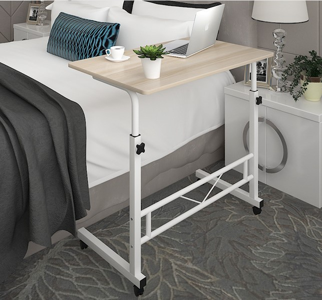 Cheap Adjustable Height Coffee Table: Teaside Mobile Small Coffee Table With Wheels Yi Zuo Tang
