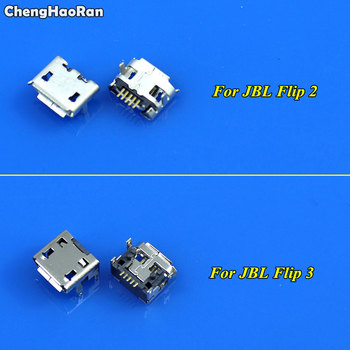 ChengHaoRan Micro USB jack socket connector replacement repair parts Charging Port Charger For JBL Flip 2 3 Bluetooth Speaker image
