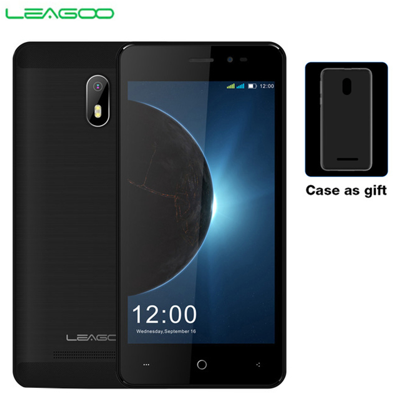 LEAGOO Z6 3g Smartphone 4,97 zoll Bildschirm Android 6.0 MT6580M Quad Core 1,3 ghz 1 gb RAM 8 gb ROM 2000 mah 5MP Dual SIM Handy