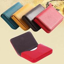 Good Quality Faux Leather Magnetic Closure Business ID Name Pack Credit Card Holders(China)