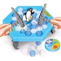 Children early education desktop game parent-child interaction puzzle toys gifts Ice Breaking Save The Penguin Great Family Game