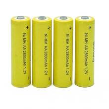 12XAA battery New Original 2800MaH 1.2V NiMH Rechargeable Battery Free shipping