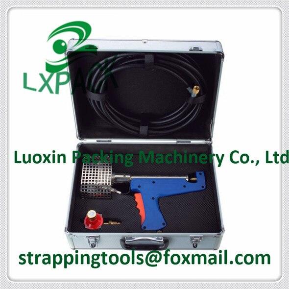 LX PACK Отопление пропановая горелка комплект пропан паяльная горелка термоусадочный пистолет для упаковки пленки yhat защита поддон усадка