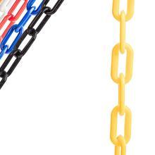Пластиковые звенья цепи диаметром 20 мм, длиной 10 метров/цепи для управления толпой, цепи для Хэллоуина, опорные цепи и т. Д
