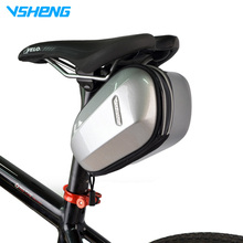 VSHENG Bicycle Saddle Bag Waterproof MTB Bike Rear Bags Cycling Rear Seat Tail Bag Bike Accessories  Pouch Bag Saddle Bolsa