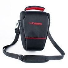 Сумка для фотокамеры Чехол Для Canon EOS 1300D 6D 70D 760D 750D 80D 600D 650D 700D 1200D 1100D 550D SX60 SX50 SX30 поцелуй x7 100D