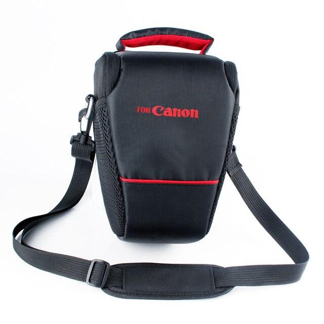 spedizione gratuita materiali di alta qualità pacchetto elegante e robusto US $10.5 |Camera Case Borsa Per Canon EOS 6D 7D 70D 1300D 760D 750D 80D  1200D 700D 600D 650D 1100D 550D SX60 SX50 SX30 bacio x7 100D in Camera Case  ...