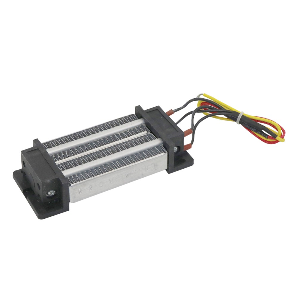 220V 200W PTC Heater Thermostatic Heating Element PTC Semiconductor Air Heater No Electricity On The Surface Safety 1 Pc