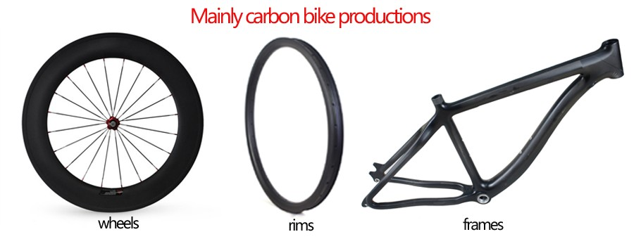 carbon bike wheels rims frames productions