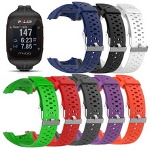 Soft Silicone Replacement Watch Band Strap For Polar M400 M430 RunningGPS Sport Smart Watch Wristband Wriststrap Band with tools