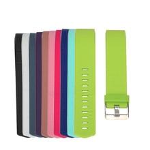 Silikonové barevné náramky na výměnu pro Fitbit Charge 2