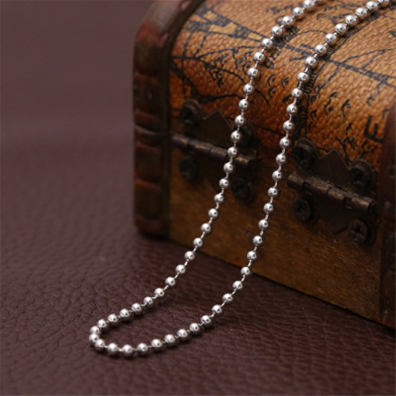 3MM S925 Sterling Silver Fashion Jewelry Good Art Cherry Blossom Personality Student Thai Silver Necklace Wild Pendant