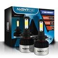 Nueva H7 72 W/set Nighteye 9000LM LED COB Coche Faros de Niebla Auto lámparas Del Bulbo DRL con Xenon Blanco 6500 K Play & Plug Envío gratis