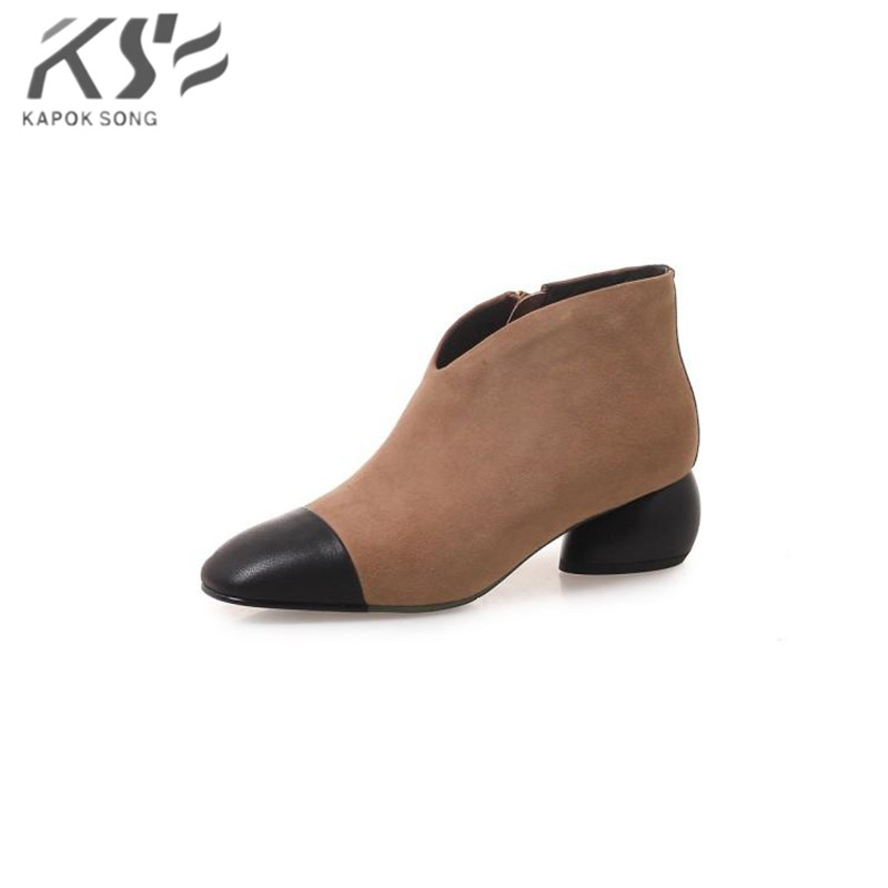 Brand boots 2018 women boots cow leather luxury designer model genuine leather boot women fashional really leather shoes lady women sneaker cow really leather flats luxury brand designer shoes casual shoes new fashion model confortable shoes lady