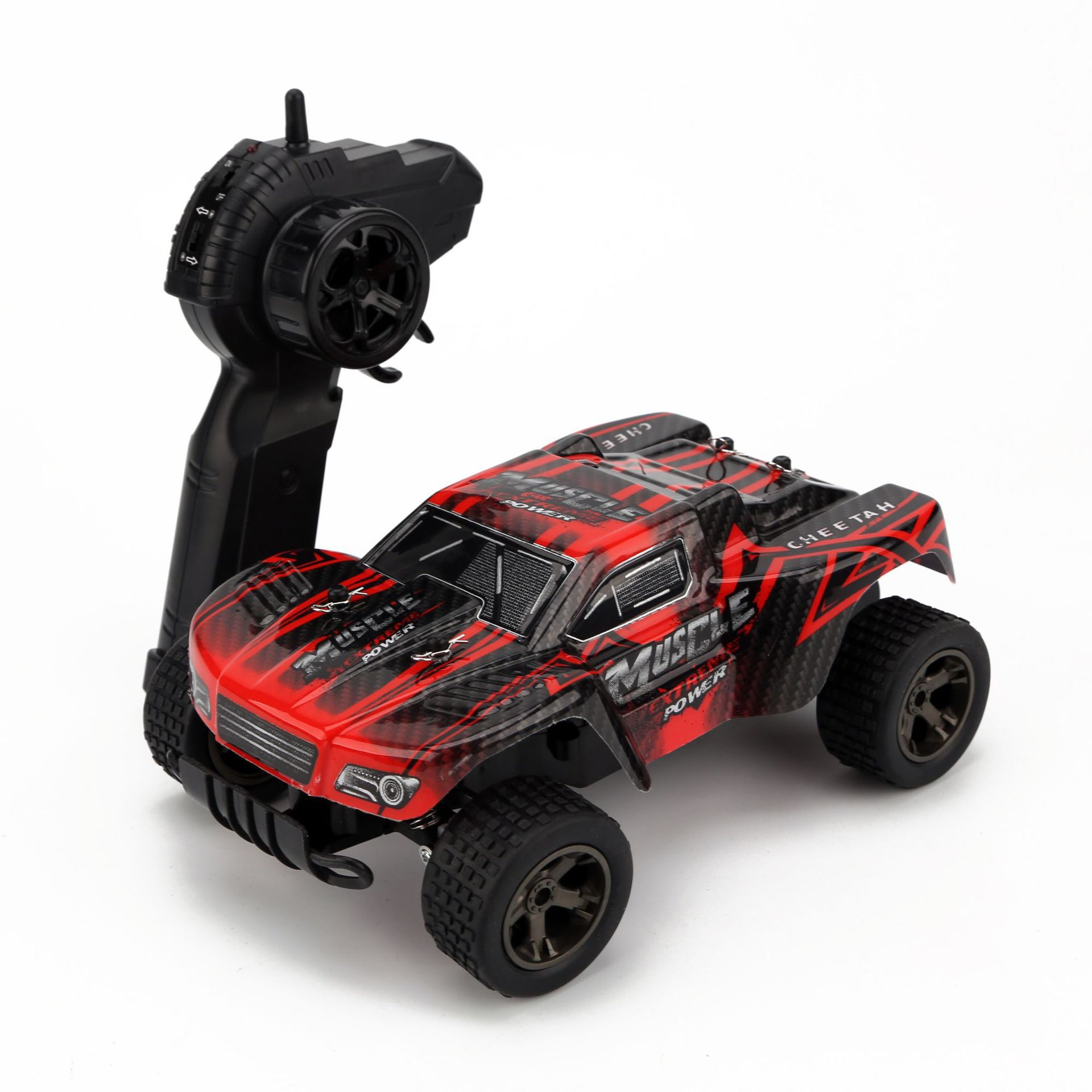 1/18 2.4GHz 4WD Monster Rc Racing Car Remote Control High Speed Off-road Vehicle Electric RC Toy Truck Buggy Kid Surprise Gift electric rc car a232 high speed control off road monster truck buggy rc drift car remote control toy for kid gifts vs a979 l202