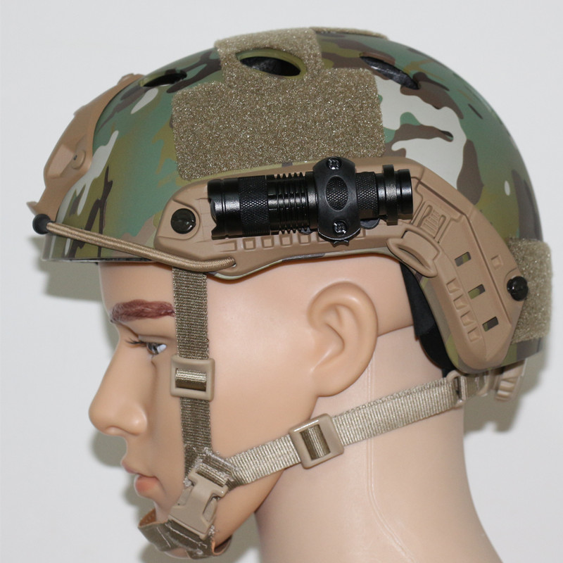 Army Military Tactical Helmet Light Holder Hunting Airsoft Accessories Airsoftsports Tactical Headset Fast PJBJ Mich2000 2001 02