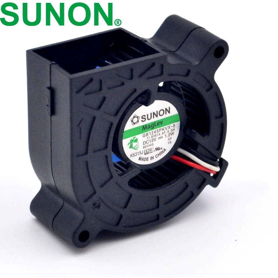 New projector fan 4520 magnetic suspension blower 12V 1.2W GB1245PKVX-8 new original adda ab05012dx200300 12v 0 15a projector blower cooling fan