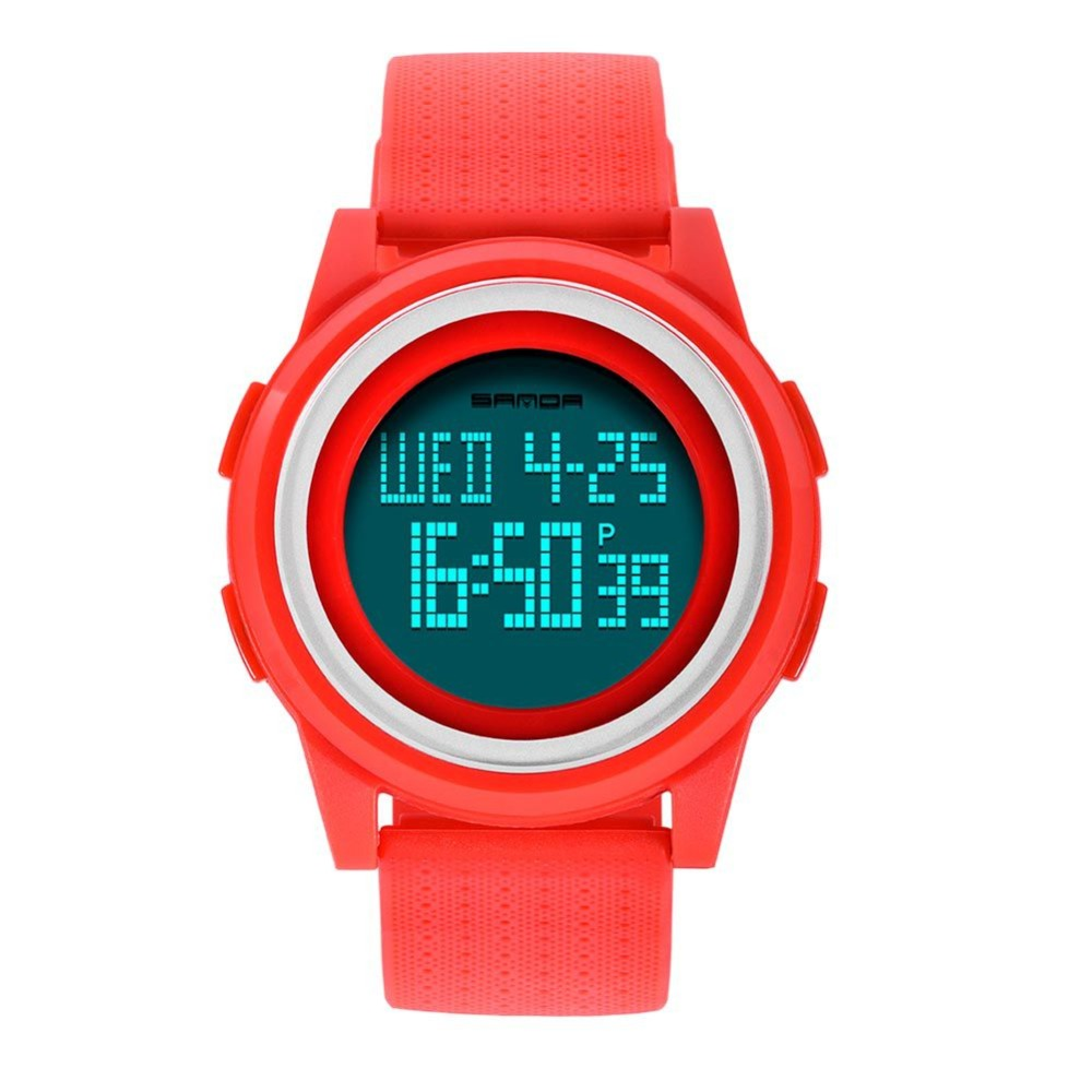 Multifunctional Electronic Sport Watch Digital Watches Outdoor Sports Watches LED Electronic Watch Man Chronograph Clocks цена и фото