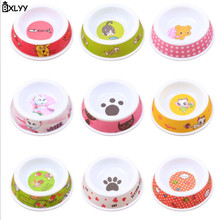 BXLYY 2019 Hot Pet Bowl Melamine Cat Feeder Supplies Accessories Color Random Products for Dogs Dog Accessories.7z