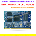 MYC-SAMA5D36 CPU Module,536MHz SAMA5D36 ARM Cortex-A5 Processors,256MB DDR2 SDRAM,256MB Nand Flash,16MB Nor Flash,4MB Data Flash