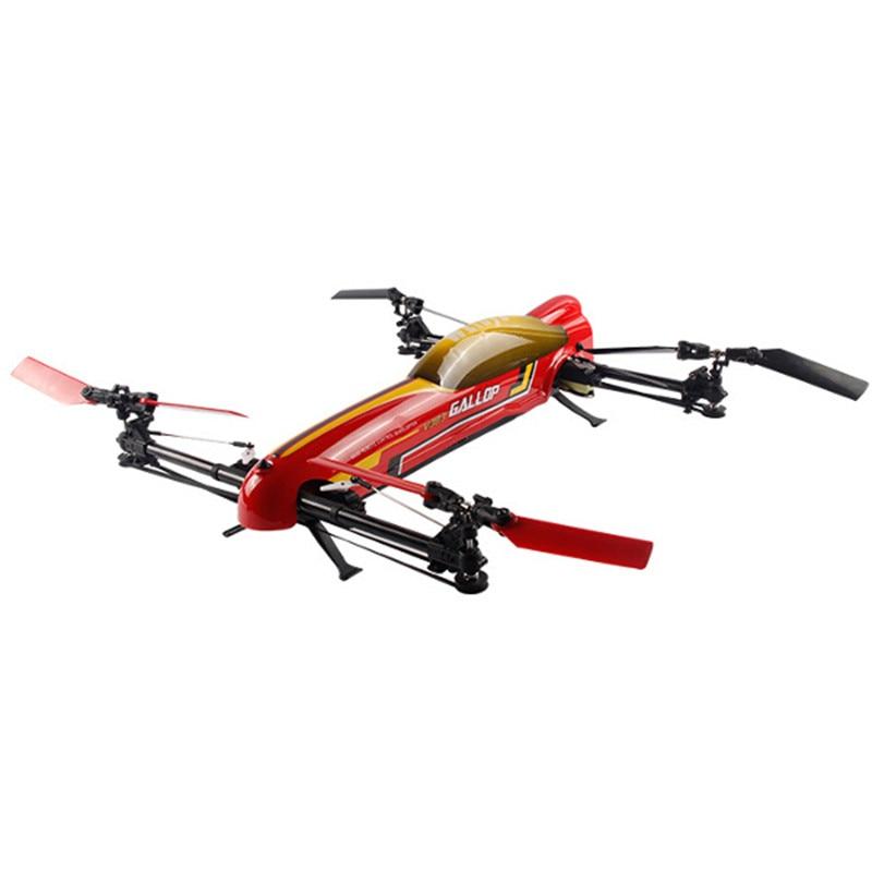 Original WLtoys V383 500 Electric 3D 2.4G 6CH ESC RC Quadcopter 6 ForAxis With 3D Flight Mode 6 Channel Transmmitter original 1pcs t143 500 6