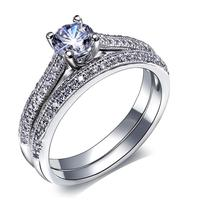 Free Shipping New Trend Trendy Jewelry Female Finger Engagement Rings Exaggerated High Quality Zircon Ring Christmas