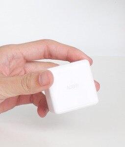 Image 3 - Nieuwe Aqara Cube Controller Zigbee Versie Draadloze Schakelaar Gecontroleerd Door Zes Action Werken Met Smart Home