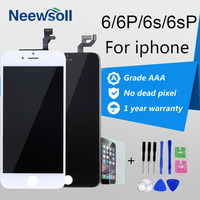 Neewsoll No Dead Pixel AAA Screen Replacment For IPhone 6 Display IPhone 6S LCD IPhone6Plus Touch