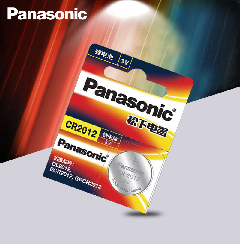 Original Brand New Battery PANASONIC Cr2012 3v Button Cell Coin Batteries For Watch Computer Cr 2012