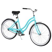 26 Single Speed Men Women's Beach Cruiser Bicycle