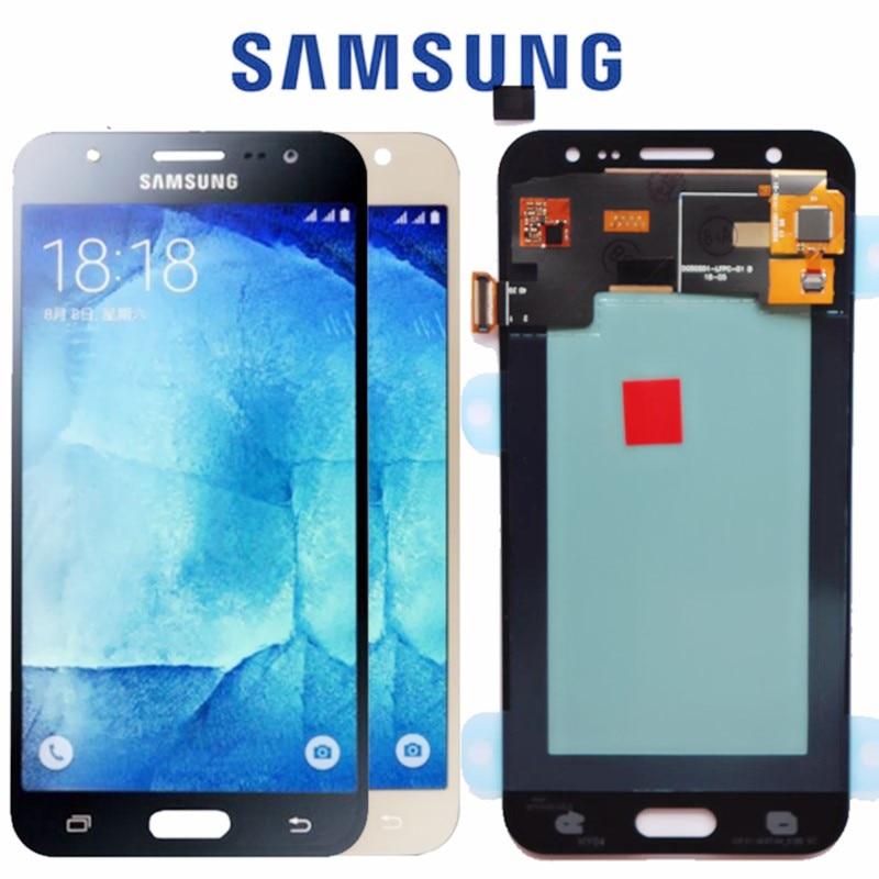 5.0 ''AMOLED LCD ou SAMSUNG Galaxy J5 2015 J500 LCD Affichage J500H J500FN J500F J500M SM-J500F Écran Tactile Digitizer