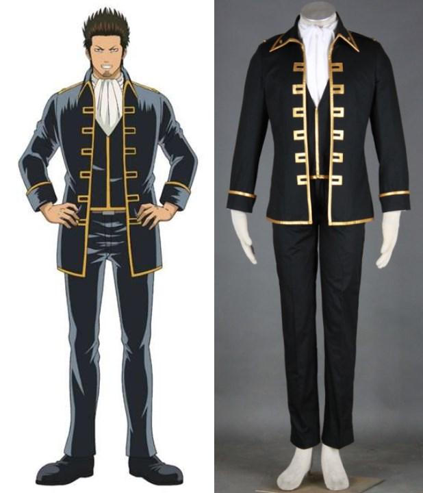 GINTAMA Shinsengumi capitaine Csplay Costume